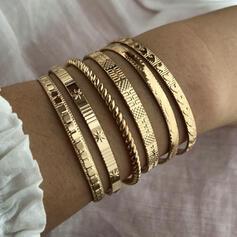Exotisch Stilvoll Legierung Armbänder (Satz 6)