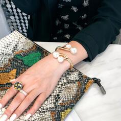 Fashionable Alloy Imitation Pearls Women's Ladies' Bracelets