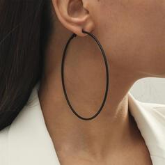 Fashionable Alloy Women's Earrings (Set of 2)