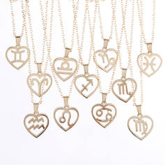 Charming Pretty Artistic Romantic Alloy With Minimalist Women's Necklaces