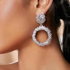 Geometric Alloy Women's Earrings 2 PCS