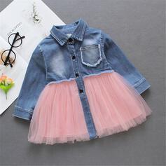Baby Girl Denim Cotton Dress