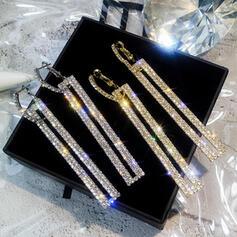 Charming Pretty Artistic Romantic Alloy With Rhinestones Women's Earrings