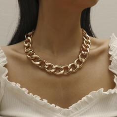 Classic Link & Chain Alloy Unisex Necklaces