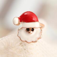 Weihnachten Weihnachten Sankt Legierung Ohrringe