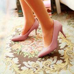 Frauen Lackleder Stöckel Absatz Absatzschuhe mit Andere Schuhe