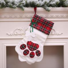 Christmas Merry Christmas Hanging Gift Bag Cloth Christmas Stocking Candy Bags