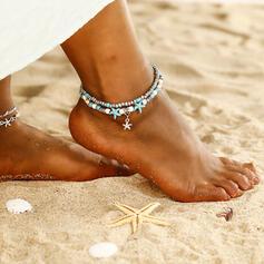 Modisch kühlen Legierung Strandschmuck Fußkettchen