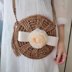 Floral/Handmade Shoulder Bags/Beach Bags