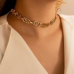 Vintage Classic Alloy Women's Necklaces