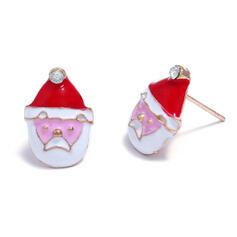 Weihnachten Weihnachten Sankt Legierung Ohrringe 2 STÜCK