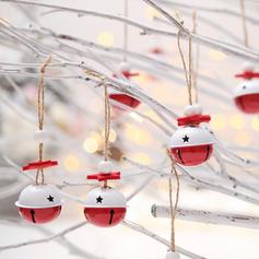 Weihnachten Fröhliche Weihnachten Hängend Metall Baum hängen Ornamente Weihnachtsschmuck Weihnachtsglocke