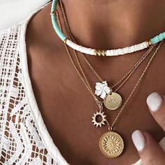 Exquisiten Anhänger Legierung Halsketten Strandschmuck