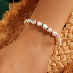 Einfache Elegant Faux-Perlen Armbänder