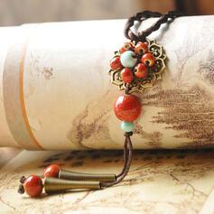 Unique Romantic Ceramic Beads Women's Ladies' Unisex Girl's Necklaces