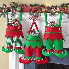 Weihnachten Fröhliche Weihnachten Hängend Geschenktasche Vlies Apple Taschen Candy Bags