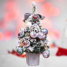 Weihnachten Fröhliche Weihnachten Schneemann Rentier Santa Hängend Metall Baum hängen Ornamente Weihnachtsschmuck