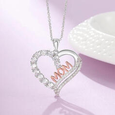 Charming Pretty Artistic Romantic Alloy With Metal Letter Décor Ladies' Necklaces