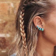 Exotic Simple Boho Alloy Resin Women's Earrings 2 PCS