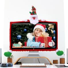 Weihnachten Fröhliche Weihnachten Schneemann Rentier Santa Vlies Weihnachtsschmuck