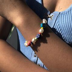 Bunte Boho Perlen Armbänder