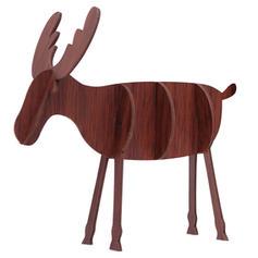 Weihnachten Fröhliche Weihnachten Rentier Tischplatte Hölzern Diy Craft Weihnachtsschmuck