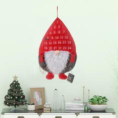 Weihnachten Gnom Fröhliche Weihnachten Hängend Vlies Adventskalender Weihnachten