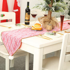 Weihnachten Fröhliche Weihnachten Leinen Tischläufer