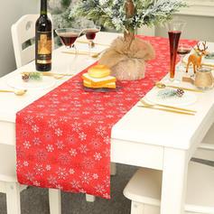 Weihnachten Fröhliche Weihnachten Polyester Tischläufer