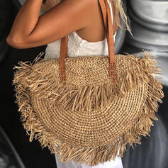 Dumpling Shaped/Bohemian Style/Braided Tote Bags/Beach Bags