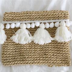 Modisch/Vintage/Geflochten Tragetaschen/Strandtaschen