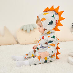 Baby Girl Dinosaur Animal Cotton One-piece