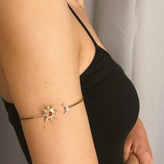 Fashionable Vintage Simple Alloy With Sun Women's Ladies' Girl's Bracelets