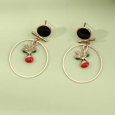 Weihnachten Rentier Weihnachten Legierung Ohrringe 2 STÜCK