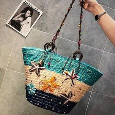 Splice Color/Star/Braided Crossbody Bags/Beach Bags