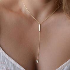 Simple Heart Alloy Women's Necklaces
