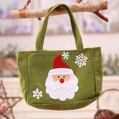 Weihnachten Fröhliche Weihnachten Schneemann Rentier Santa Geschenktasche Vlies Apple Taschen Candy Bags