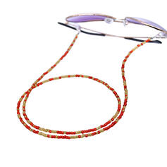 Einzigartig Exquisiten Stilvoll Kreuz Gliederkette Legierung Glas mit Perlen Frauen Damen Herren Paare ' Unisex Halsketten Weihnachtsschmuck 1 PC