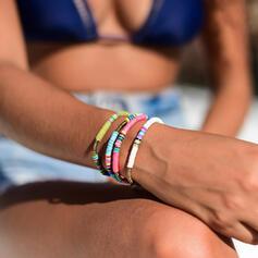 Exotisch Boho Legierung Gummi-Seil Schmuck Sets Armbänder (Satz 5)