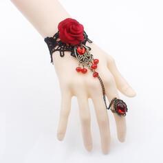 Das Halloween Legierung Spitze mit Spitze Rose Armbänder 1 PC