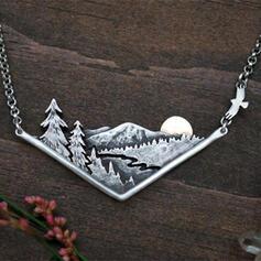 Boho Mountain Alloy Women's Necklaces
