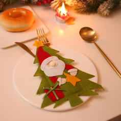 Weihnachten Fröhliche Weihnachten Schneemann Rentier Santa Vlies Geschirrbezug