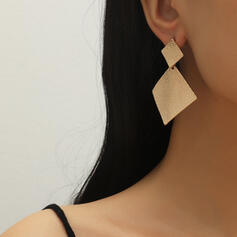 Klassische Art Geometrisch Legierung Ohrringe (Set von 2)