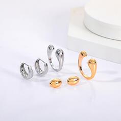 Fashionable Alloy Women's Ladies' Unisex Earrings