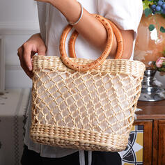 Refined/Attractive/Braided Tote Bags/Beach Bags