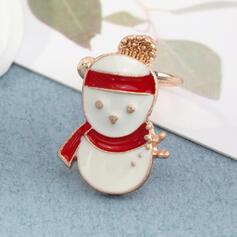 Weihnachten Weihnachten Schneemann Legierung Ohrringe