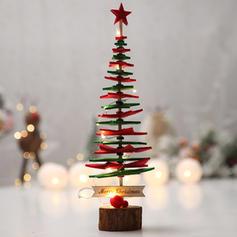Weihnachten Fröhliche Weihnachten Tischplatte Vlies Weihnachtsbaum