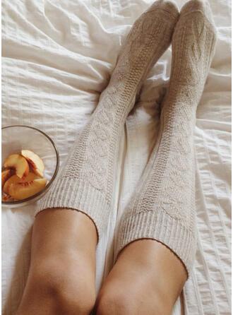Einfarbig Komfortabel/Calf Socks Socken/Strümpfe Socken