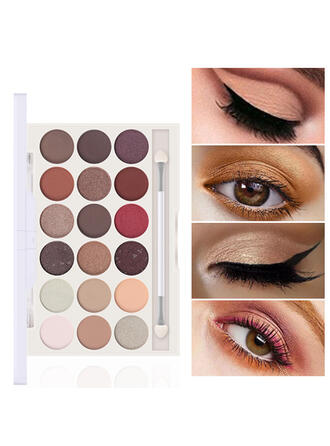 18-color Matte Shimmer Classic Eyeshadow With Box