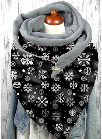 Floral/Christmas fashion/Christmas Scarf